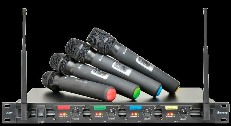 Chord UHF Radio Microphones